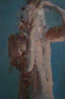 Голубая серия. № 2. 2012. Картина в частной коллекции.