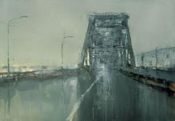 Мост. 2012. Картина в частной коллекции