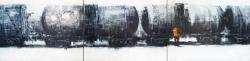Состав. Триптих. 2012. Картина в частной коллекции