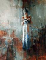 Маникюр. 2011. Картина в частной коллекции