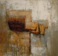 Натюрморт с хлебом. 2013. Картина в частной коллекции