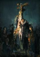 Вольная копия. Рембрант. Снятие с креста. 2012