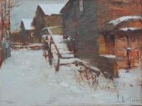 Деревня Пустошь. 2013. В частной коллекции
