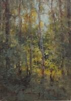 В лесу. 2013. В частной коллекции