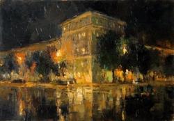 Улица Советская. 2008. Картина в частной коллекции