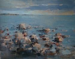 Архитектура Соловков. Белое море. 2012. Картина в частной коллекции