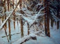 Зимний лес. 2005. В частной коллекции.
